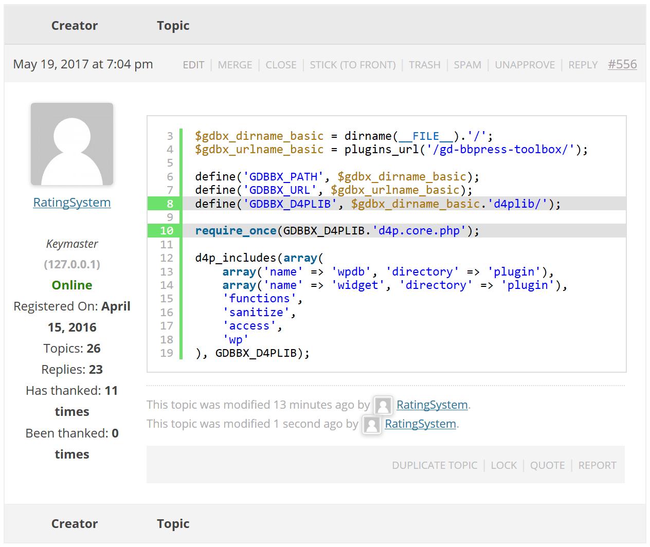 Coming Soon: GD bbPress Toolbox Pro 4.7 − Development ...